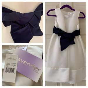 ‼️MOVING SALE‼️ NWT Formal Dress-Navy & White